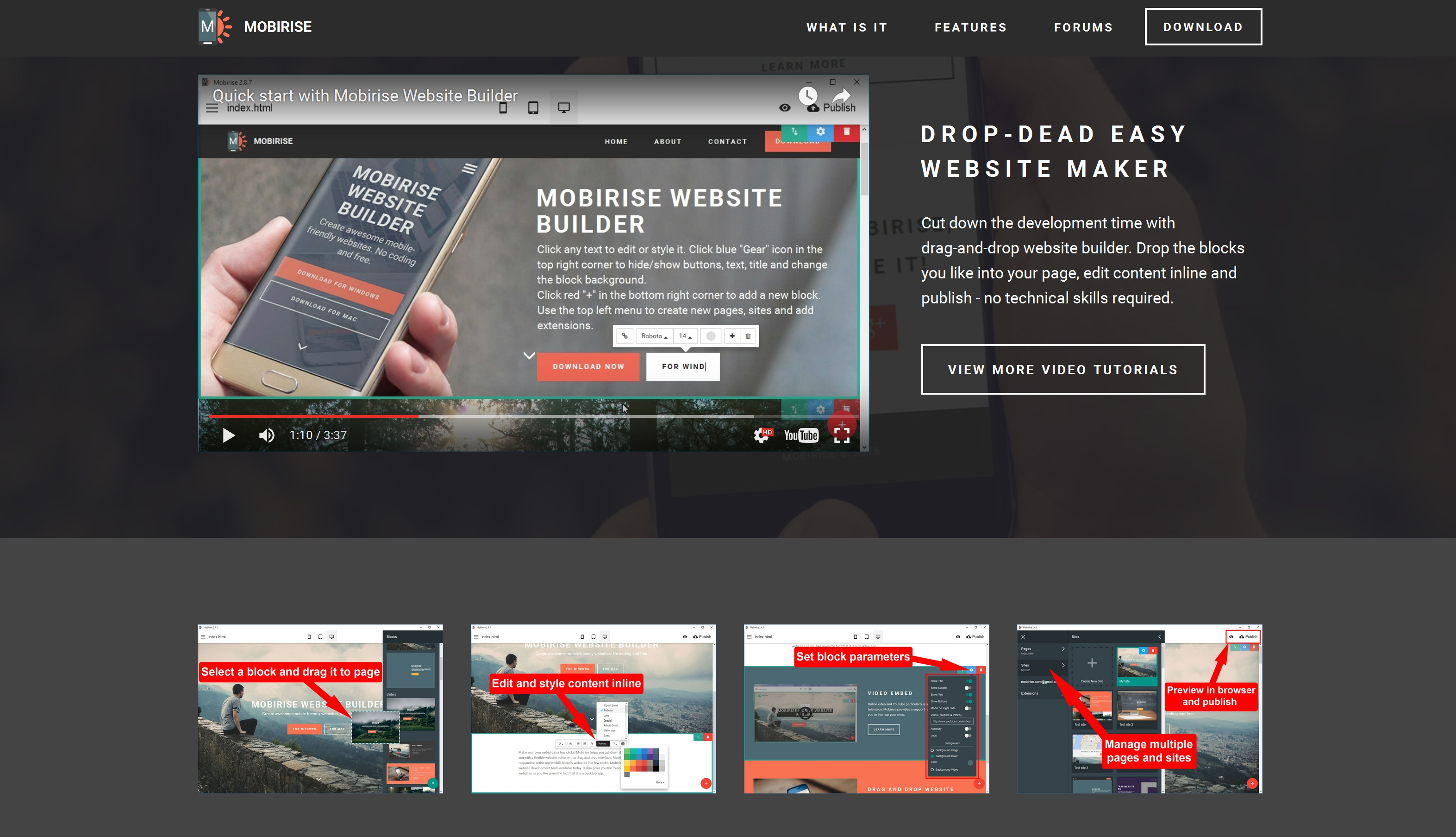 Easy Mobile Website Maker Review
