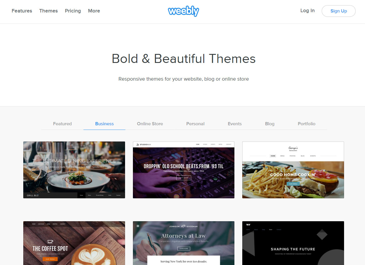 Weebly Blogs Examples Muckeenidesign