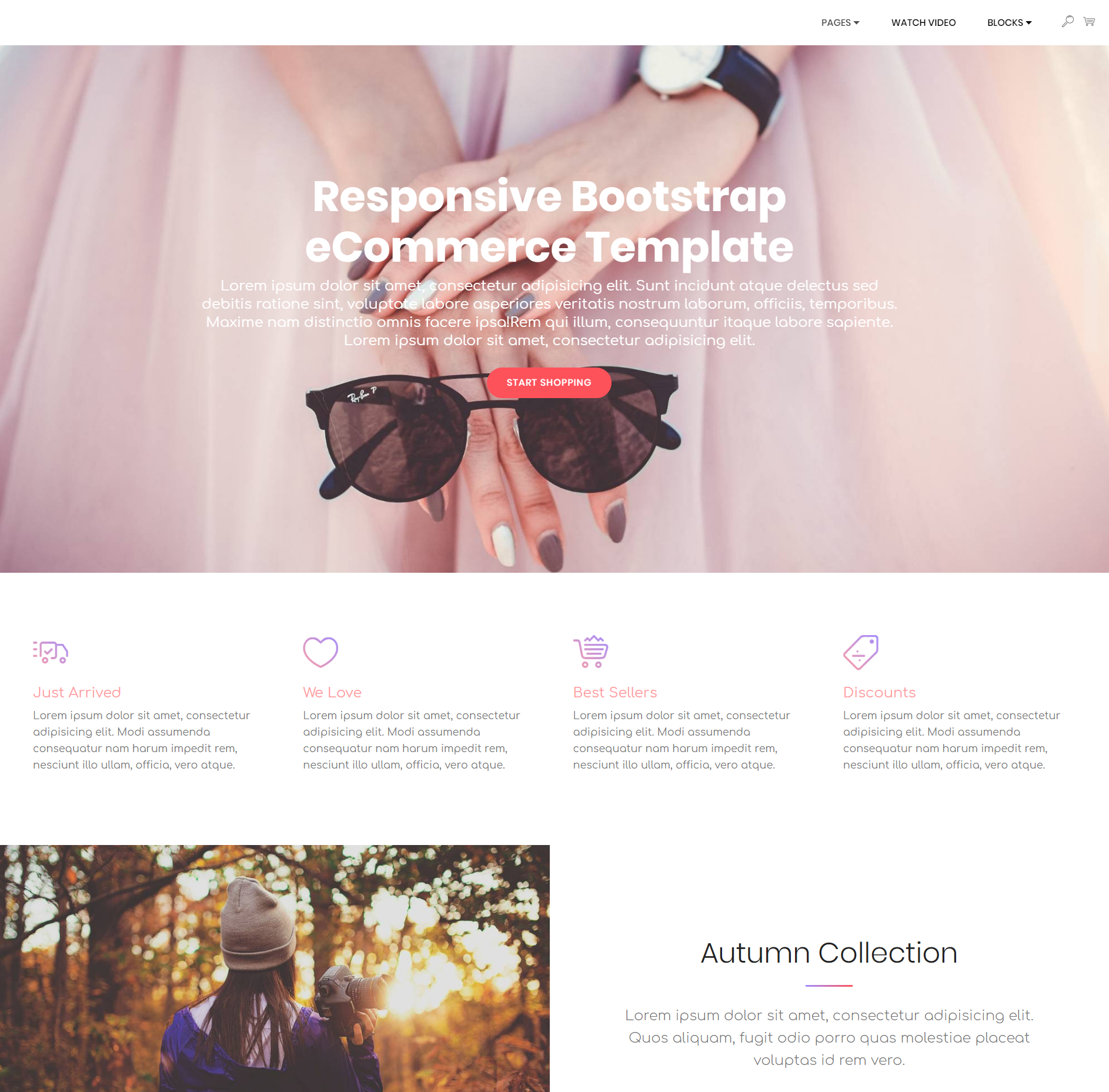 Excellent Free Bootstrap Templates 2018