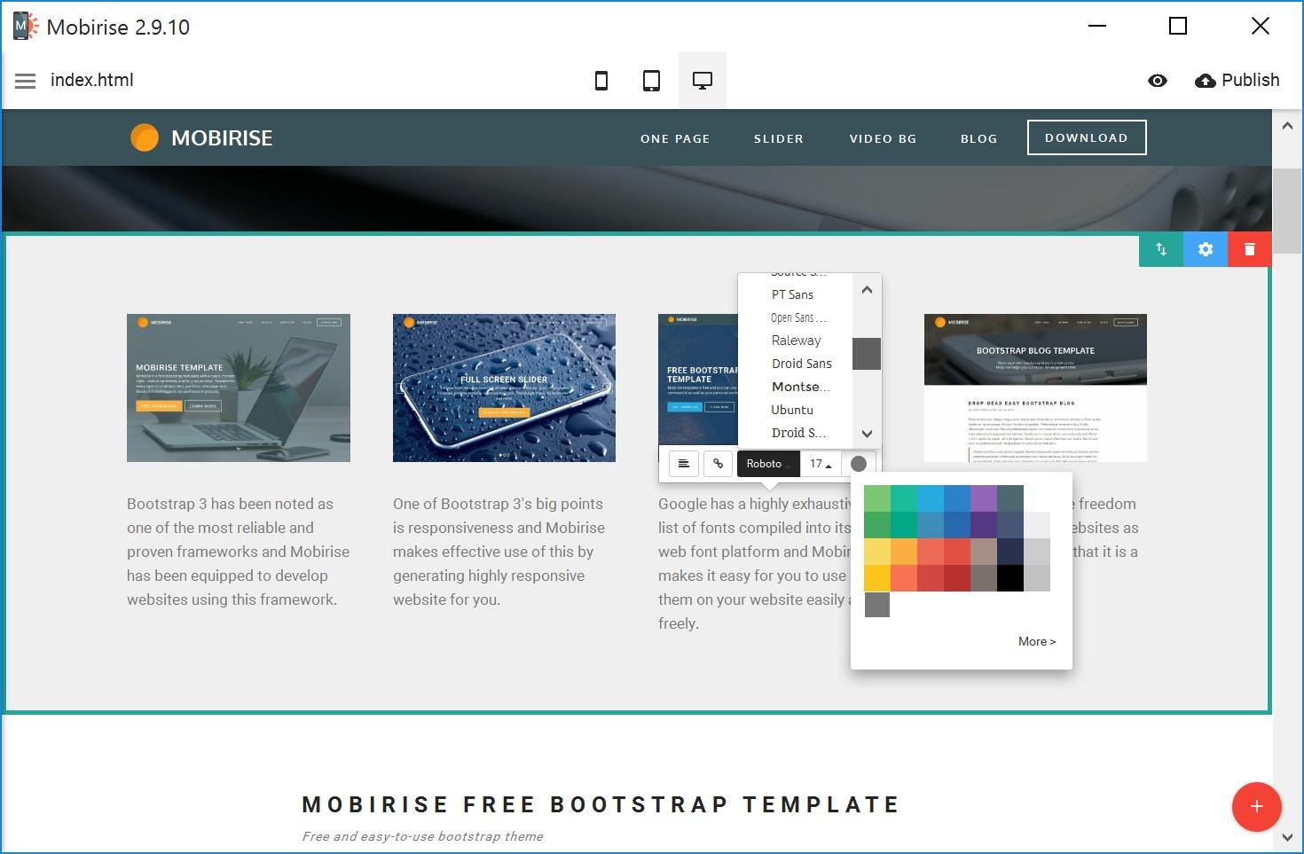 Offline Mobile Website Maker Software