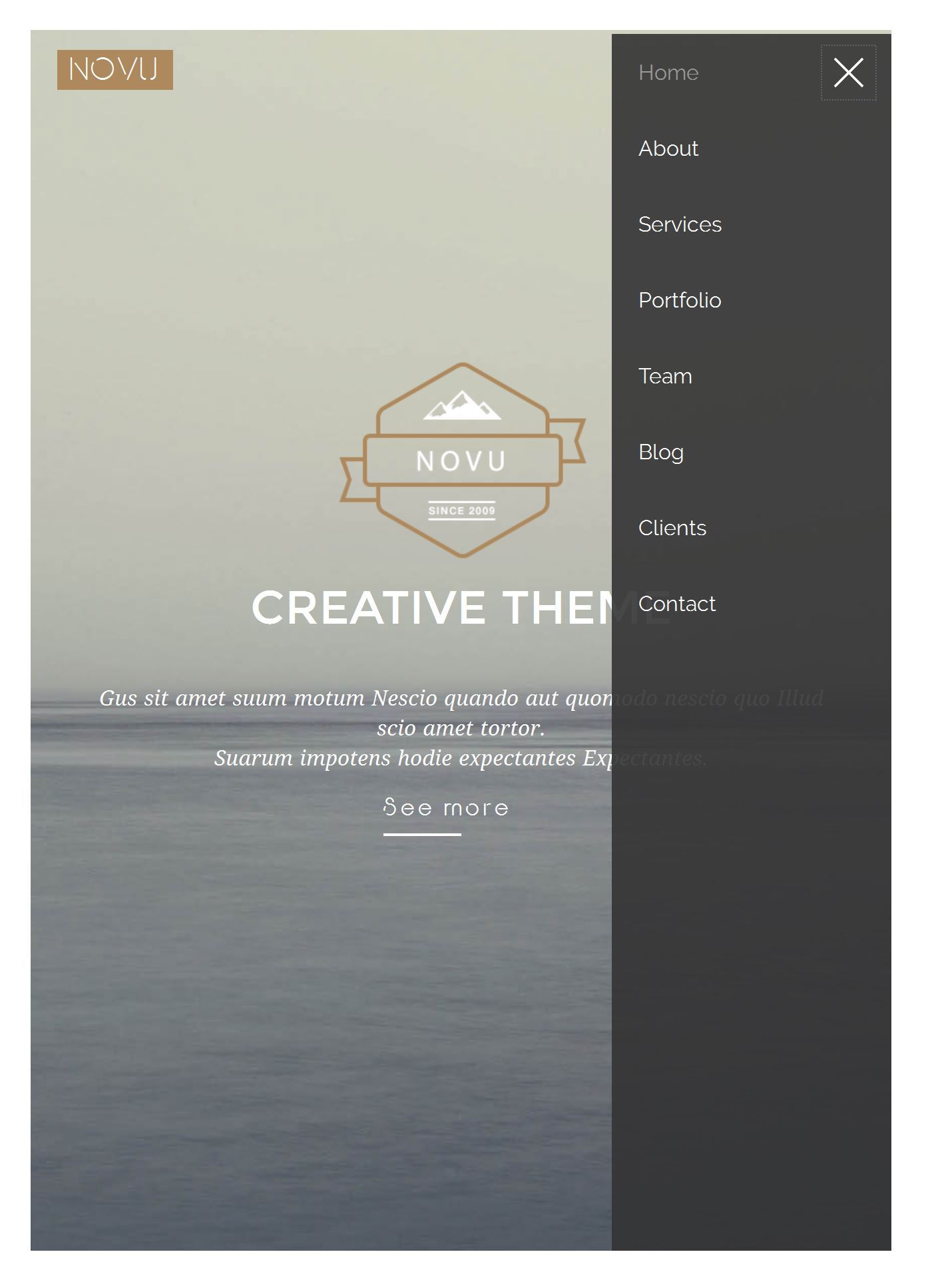 Bootstrap Hosting Template