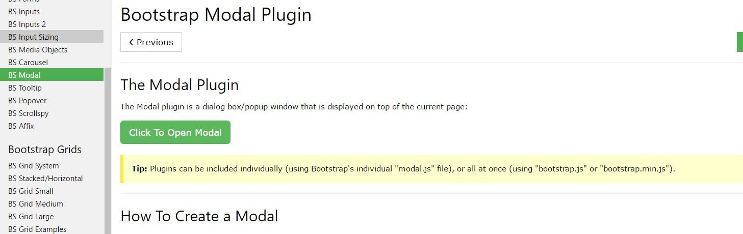 W3schools:Bootstrap modal  guide