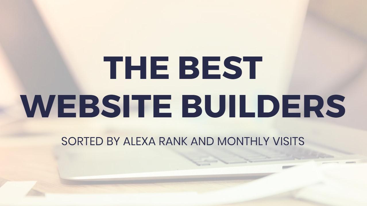 Most suitable  Web Site Builders