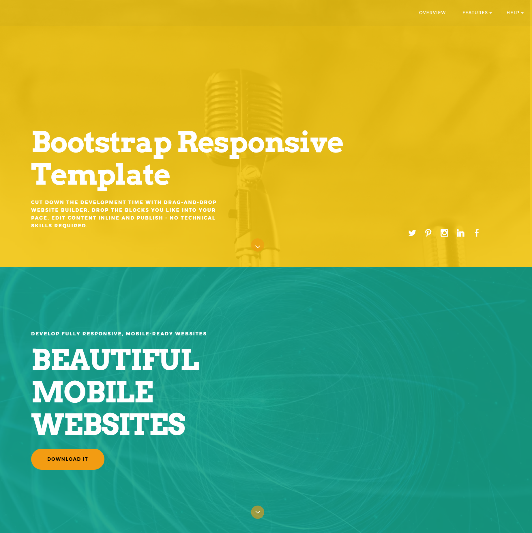 Free Bootstrap Responsive Templates
