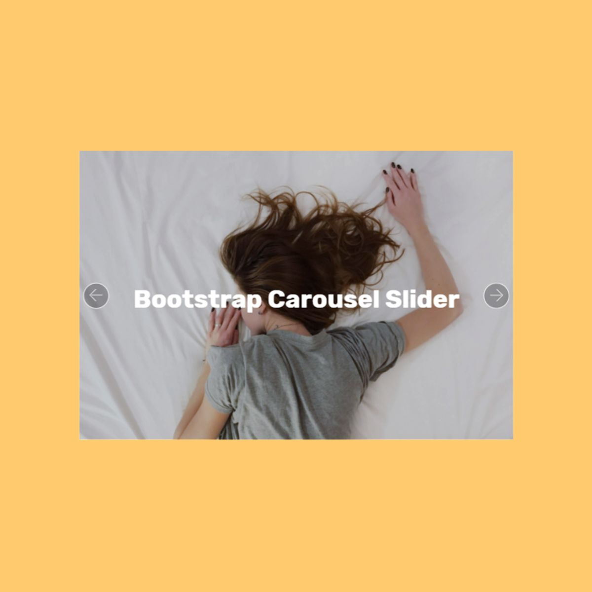 HTML5 Bootstrap Illustration Carousel