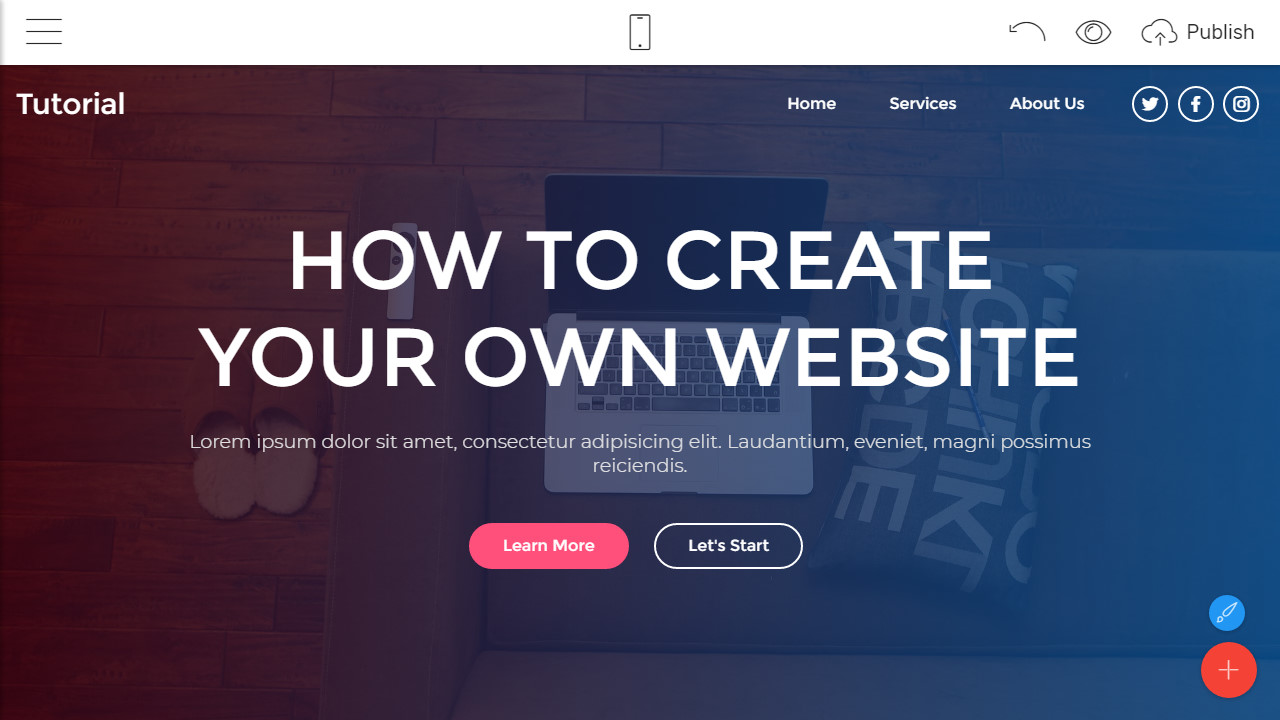 how to develop a website